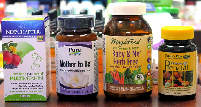 prenatal vitamins for women trying to conceive